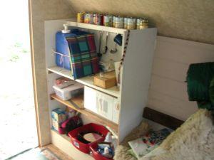 Storage, Food Prep, Microwave