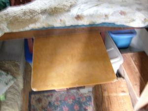 Table From Under Bed