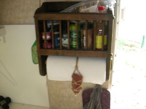 High Tech Paper Towel Roll Holder - Rock and Rope
